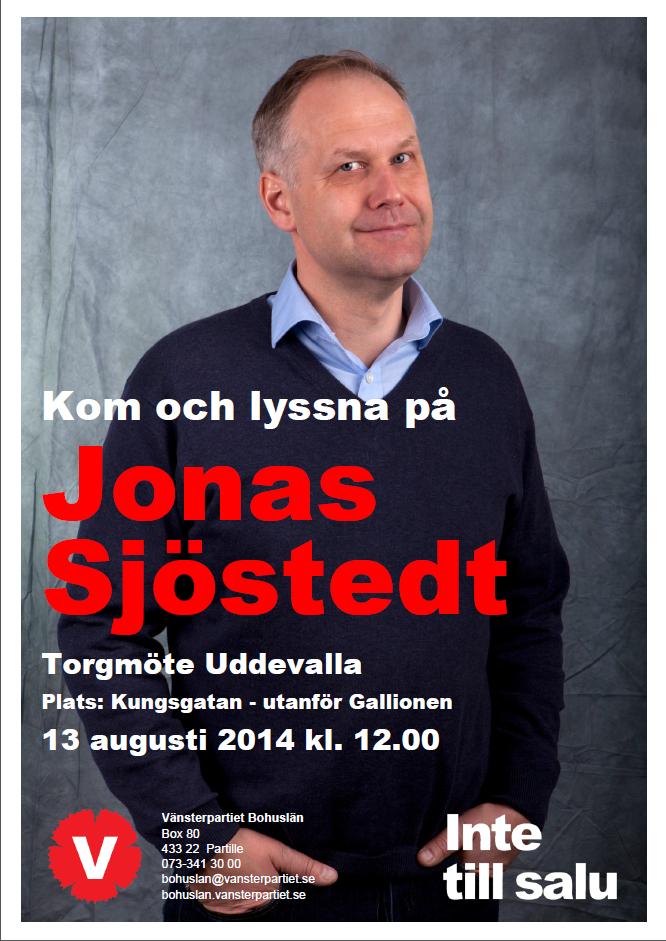 Jonas Sjöstedt 100x